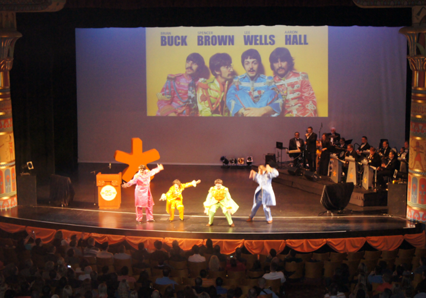 MarketStar's Beatles rock out to Come Together