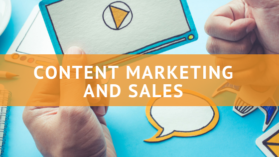 content marketing and sales
